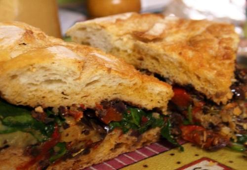 Sandwiche de berinjela